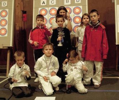 Les jeunes victorieux